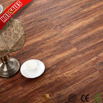 Export Turkey 2mm 3mm Dark Wood Vinyl Plank Flooring