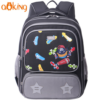 Practical design children fancy cartoon boy school bag bag for kids school