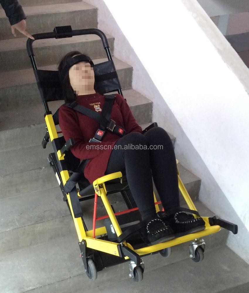 Subir escaleras en silla de ruedas el ctrica con alta for Silla de ruedas para subir escaleras