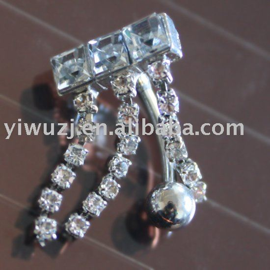 Body Piercing Jewelry Ear Navel Stud Belly Ring