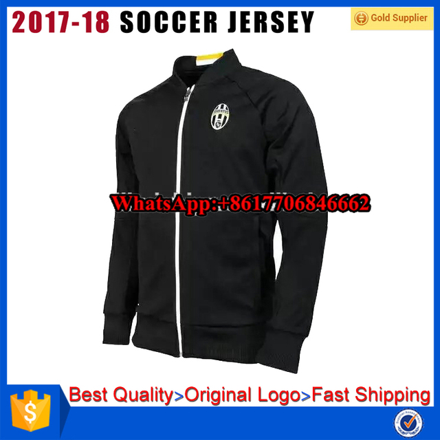 2016-2017 Football Club juventus home Away Jacket Thailand Quality Soccer jacket Coat