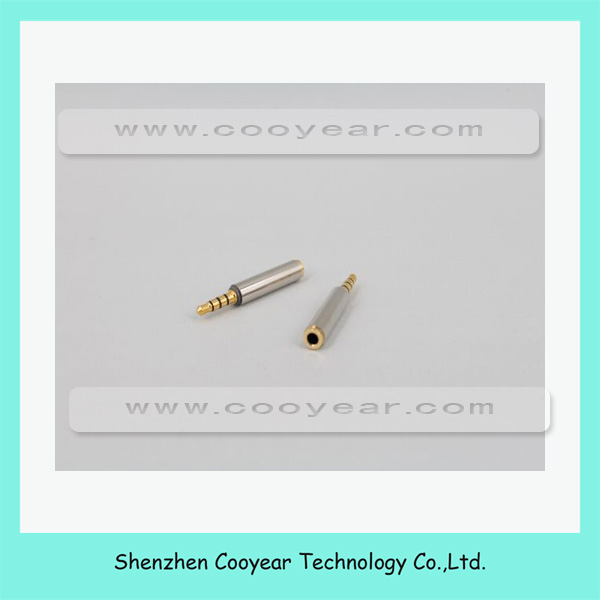 3.5mm Male plug to Female Stereo Audio Earphone Adapter