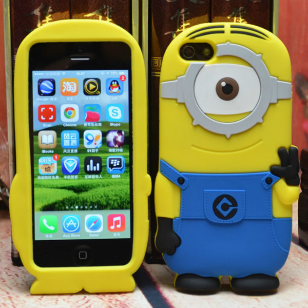 Case For Apple Iphone6+,Cuted 3d Silicone Cartoon Despicable Me ...