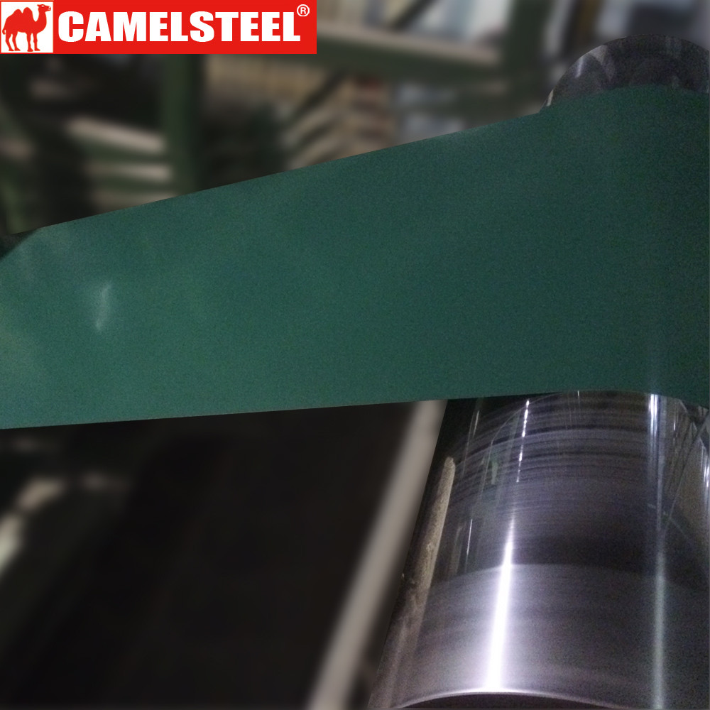 HighLight PPGI for Roofing Sheet use exported to Nigeria in Color Green