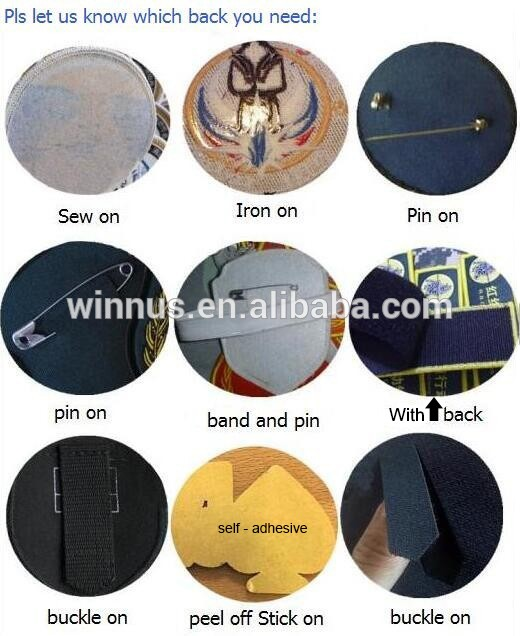 cheap custom sew iron on 3d embroidery butterfly patch