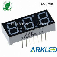 3 digit led display,0.39 inch amber color ,the manufacturer,over 20 years experiences