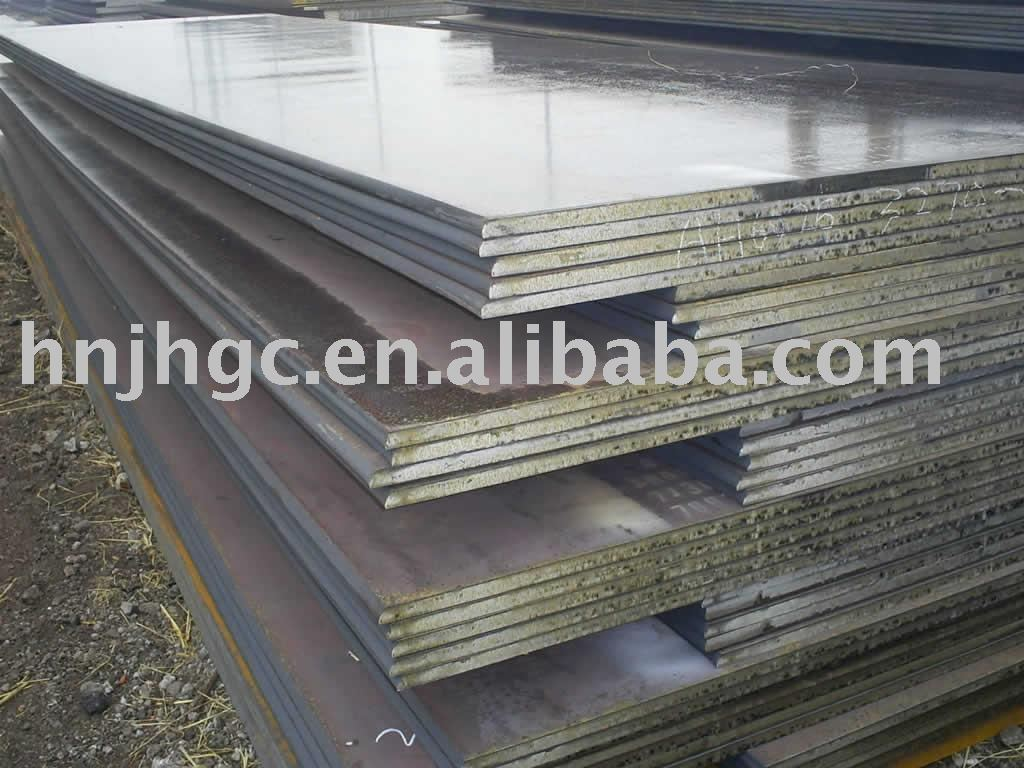 16MnR A572 grade material hot rolled steel plate from JH