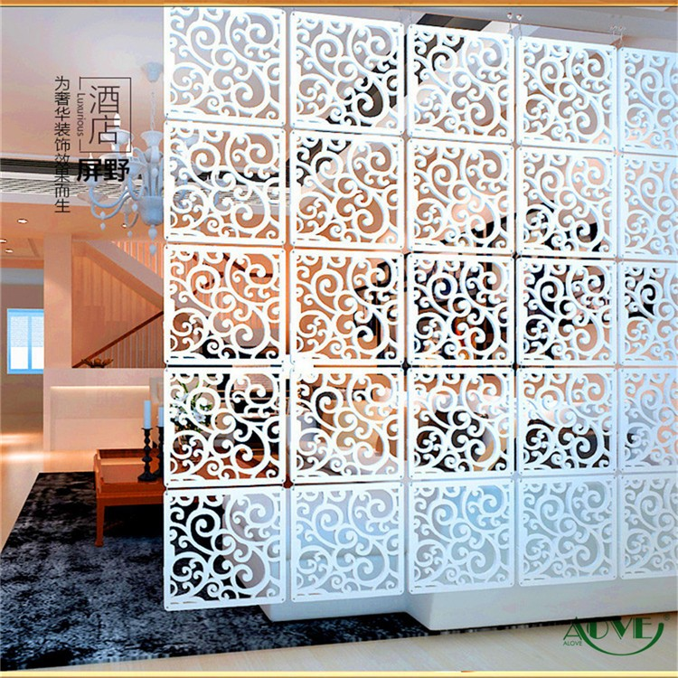 factory custom wood room divider for decoration