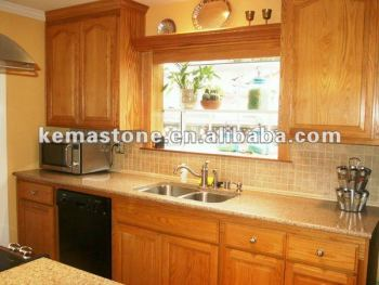 Oak Cabinets Granite Countertops