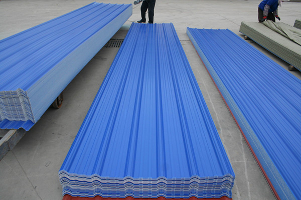New Type Non Asbestos Cement Industrial Roofing Sheets