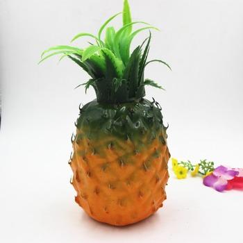 Fake Fruits Artificial Pineapple Real Like Plastic Fruit Pineapple