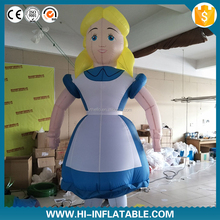 New arrival Famous movie alice inflatable tall film cartoon character