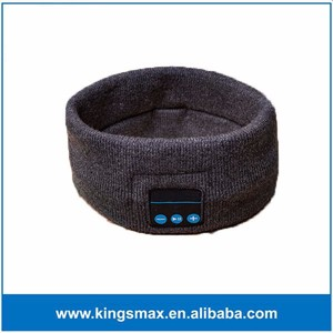 Washable Bluetooth 3.0 Elastic Band for Sport Sweat Absorbed Knitted Wireless Mic Hands - Free Bluetooth Headphone Headband
