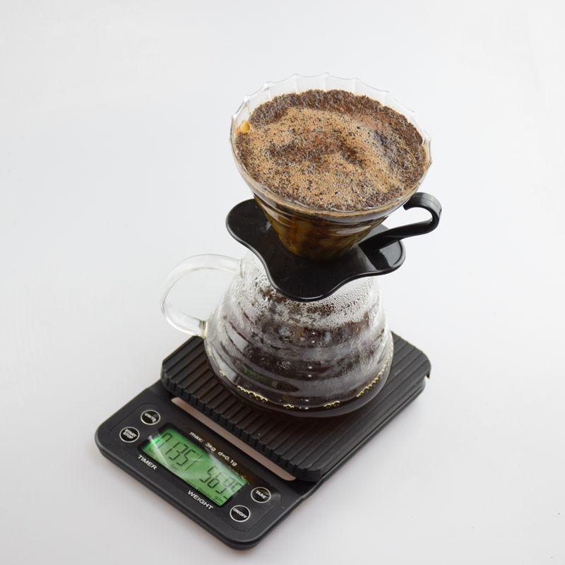 Digital Coffee Scale Drip Coffee Timer Electronic Kitchen Balance