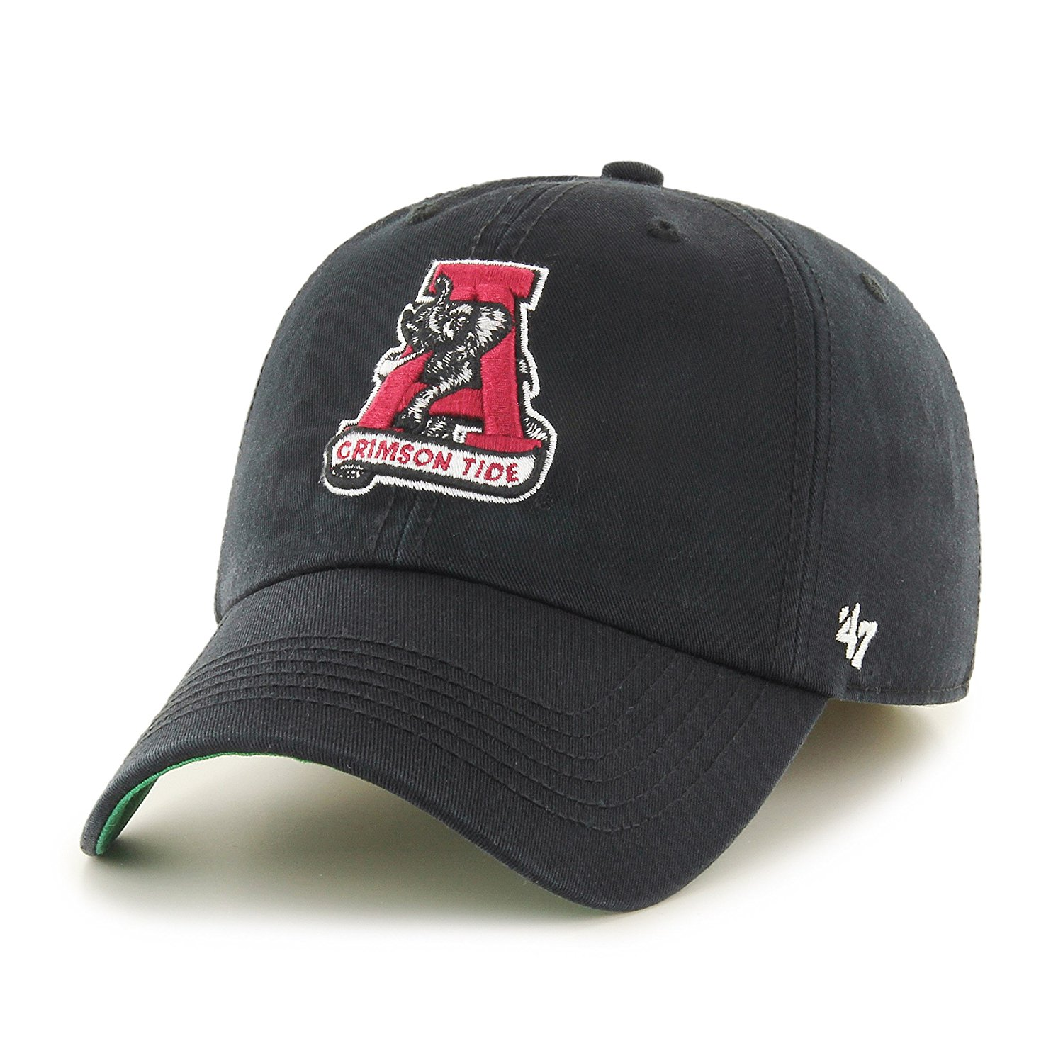 official photos 88696 d94ee Get Quotations · NCAA Alabama Crimson Tide Franchise Fitted Hat, Medium,  Black