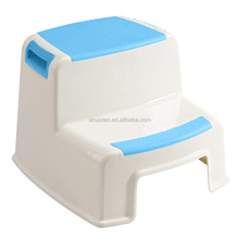 SGS approval Two-Step Stool for Kids and Supermoms to Help Your Toddler Indepently Potty Training Toilet Seat, Bathroom