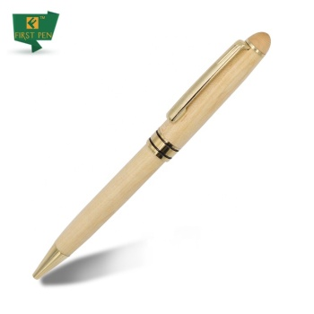 Natural  Recycled  Wood Ball Pen Low MOQ Wood Pen