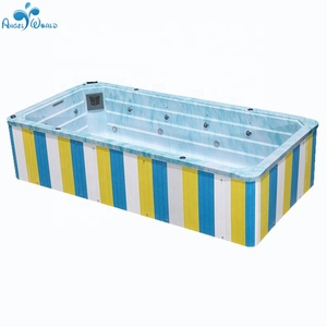 Fiberglass Portable Above Ground Acrylic Swimming Pool ...
