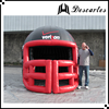 Giant outdoor used inflatable sports tunnel /football tunnel /inflatable player helmet for customized