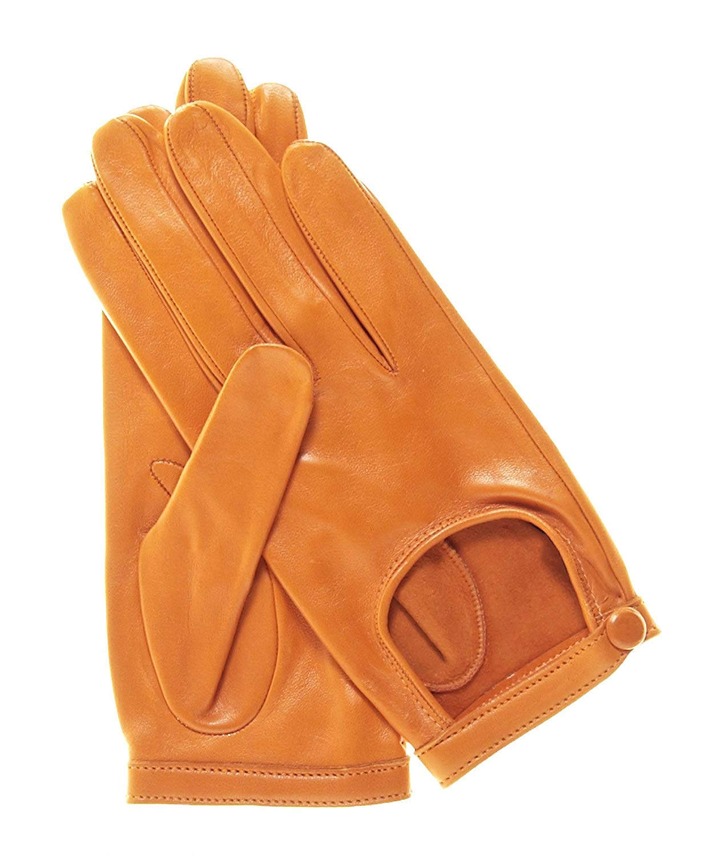 02bd01b98 Get Quotations · Fratelli Orsini Women's Classico Italian Lambskin Driving  Gloves