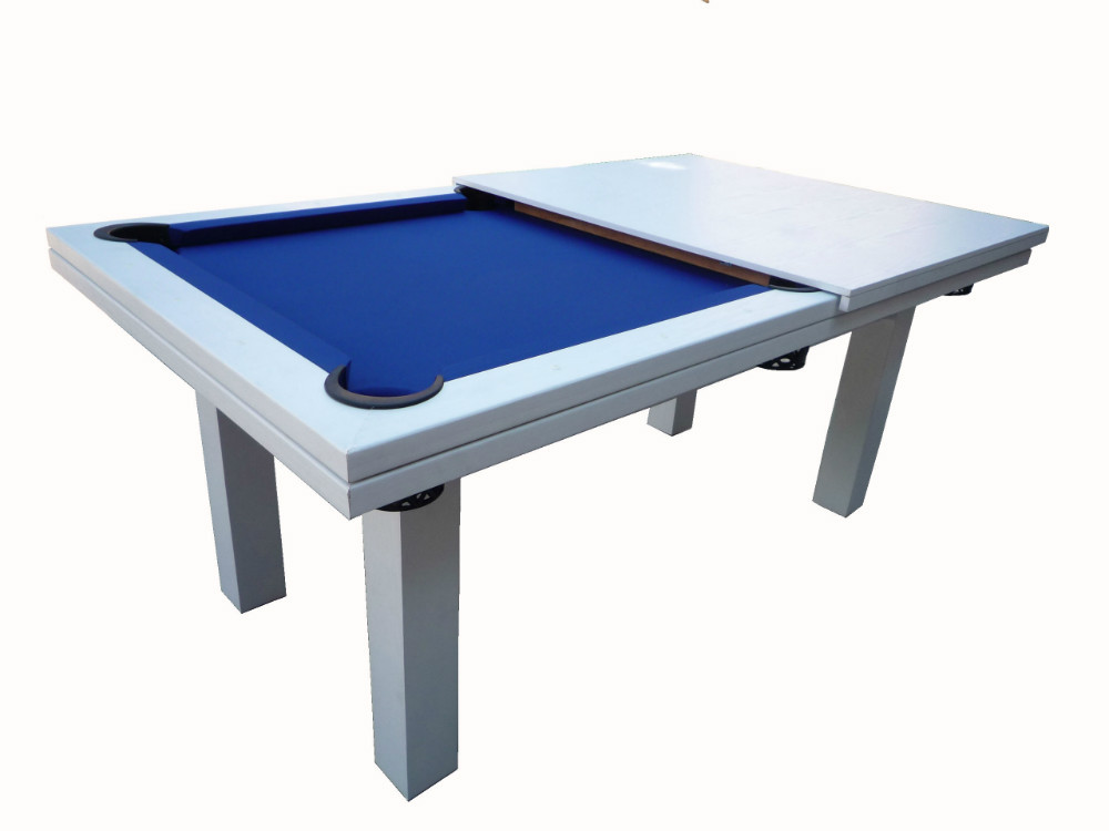 Wholesale Discount Price White Dining Pool Table,7 Feet Billiard Game Table,2  In 1 Multi Game Billiard Dinner Tables For Sale   Buy White Dining Pool  Table ...