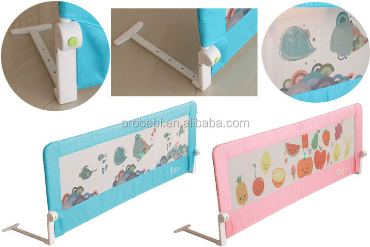 baby sleep safety plastic babybed safety rail bed protector
