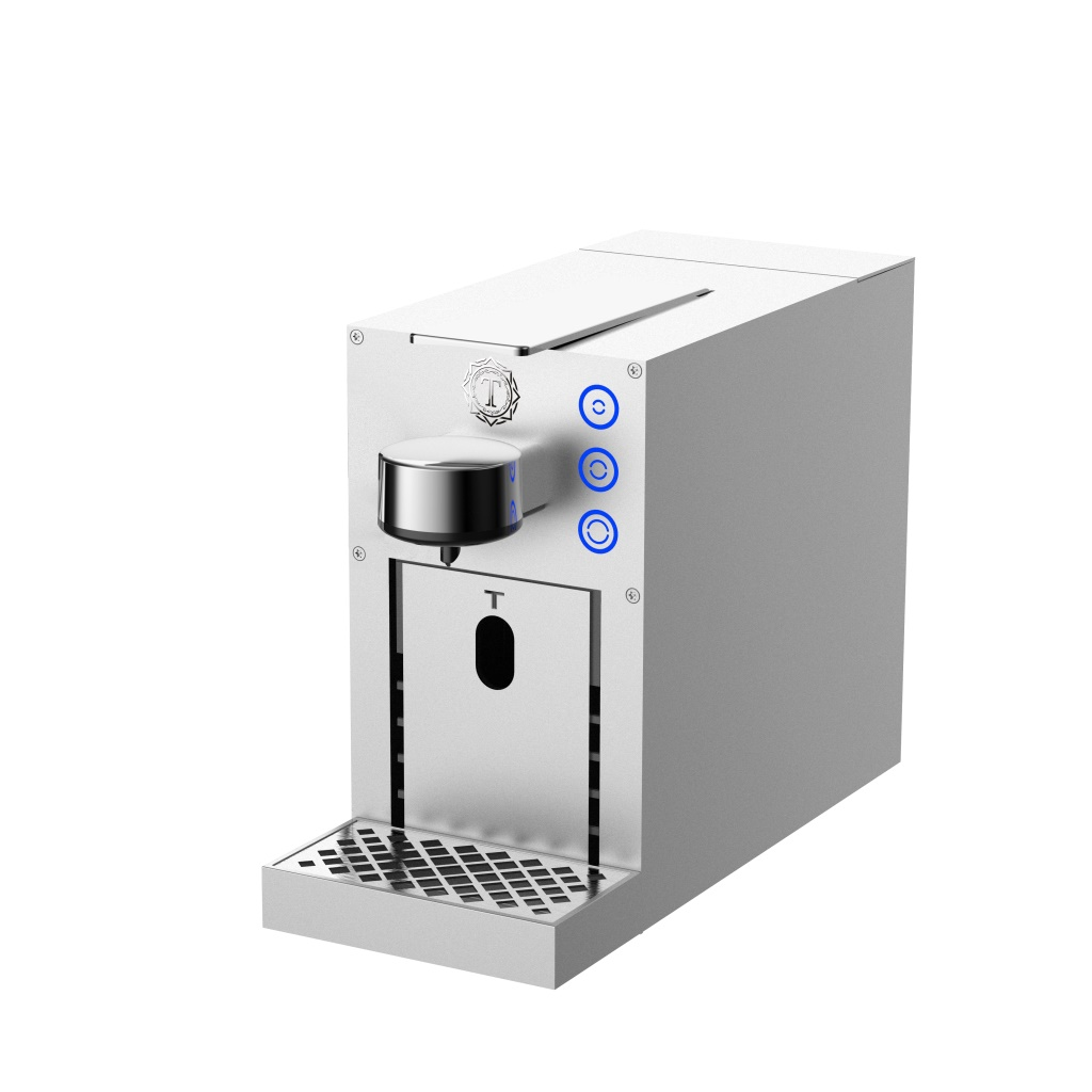 Nova TC03- Premium <strong>Nespresso</strong> Capsule Espresso <strong>Coffee</strong> <strong>Machine</strong> with Aluminum Alloy Housing
