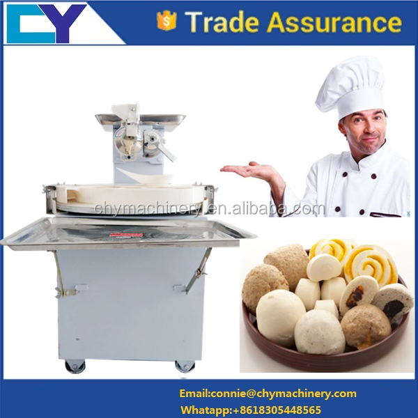 Dough cutting machine automatic continuous dough divider and rounder