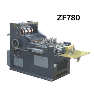 ZF780 Small Chinese Paper Envelope Manufacturing Making And Gluing Machine Price