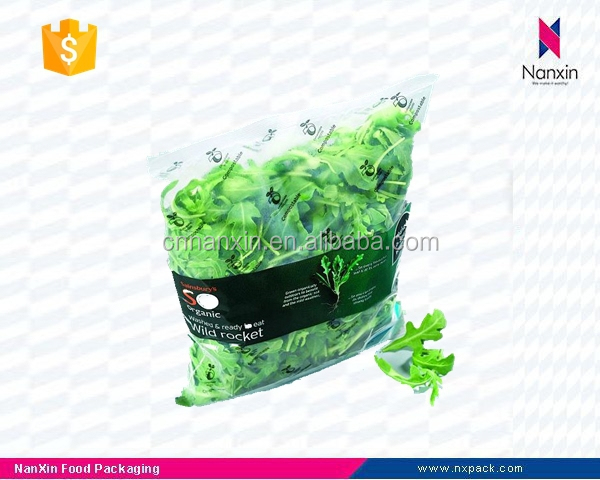 plastic fresh vegetables packaging bag