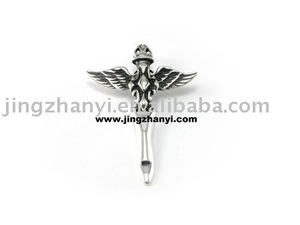 sword cross pendant in sterling silver--OEM