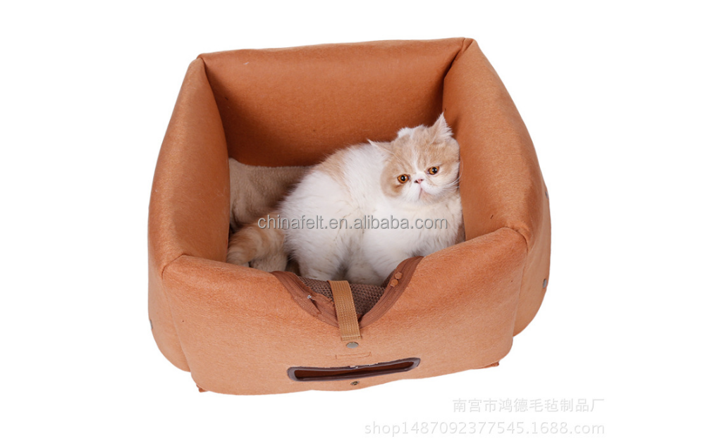 The nangong felt handmade wholesale pet sleeping bags, your pet warm home
