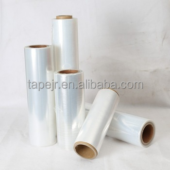 LLDPE black and transparent color stretch film hand Use
