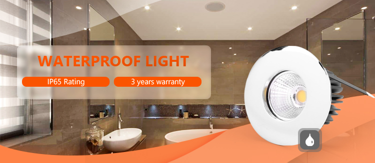 3w 5w 7w Low Voltage Mini Waterproof Recessed Can Led Lights Wet Location Lighting For Bathrooms Shower