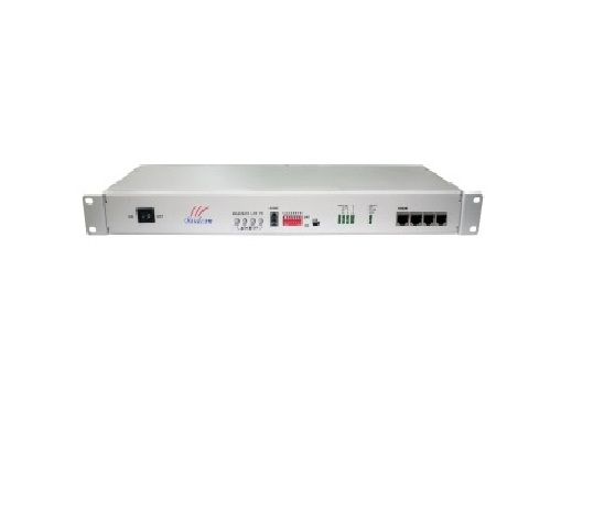 8E1 plus 4 ethernet fiber multiplexer with SC/FC/ST selectable optical transmitter and receiver