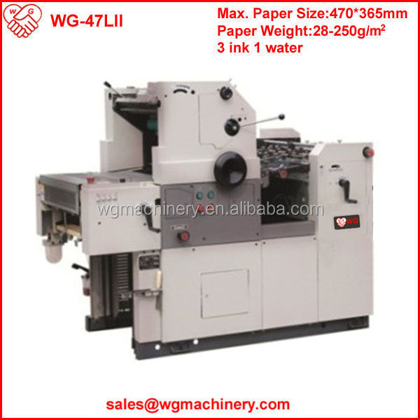 WG-47LII man roland offset printing machine spare parts