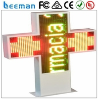 outdoor led display screen wall programable led sign outdoor led pharmacy sign