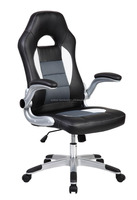 bw high back swivel computer gaming chairs/game chair racing with headrest/ racing game chair in office