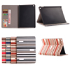 Stripe Pattern Hybrid Leather tablet Case for iPad Mini 4, for apple ipad mini 4 colorful case cover