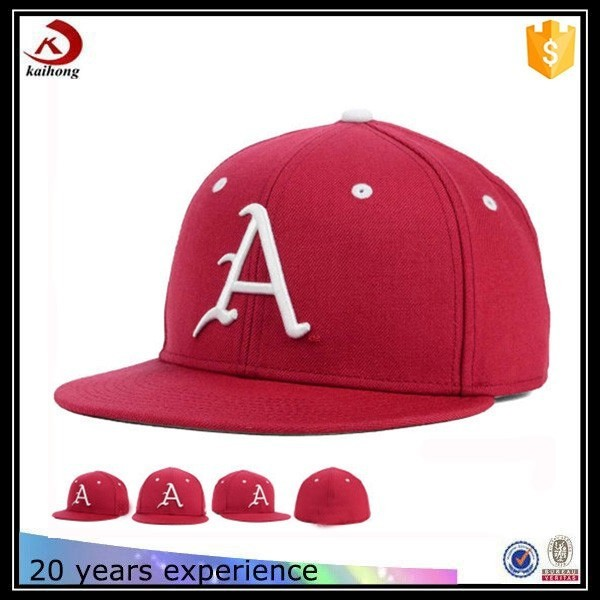 cheap promotion panel flat brim snapback hat custom design snapback