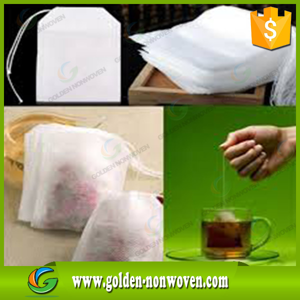 Reusable laminated polypropylene fabric d-cut non woven fabric filter tea bag/ non woven tea bag