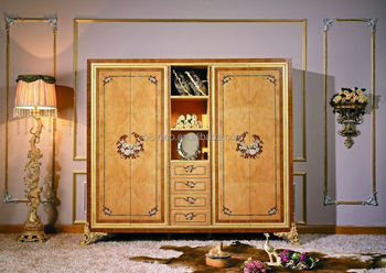 Luxury French Louis Xv Style Bedroom Furniture/classic Wood Inlaid  Marquetry 4-door Wardrobe - Buy Bedroom Wardrobe,Wood Carving Bedroom ...