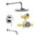 High Quality UPC Brass Material Bath Taps And SA Shower Faucet With Hand Shower