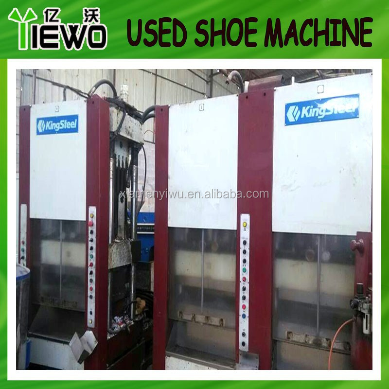 Second hand used eva injection shoe machine (Kingsteel brand)