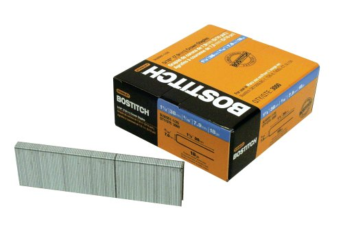 BOSTITCH SL50351-1/2G 1-1/2-Inch by 18 Gauge 5/16-Inch Crown Staple, 3000 per Box