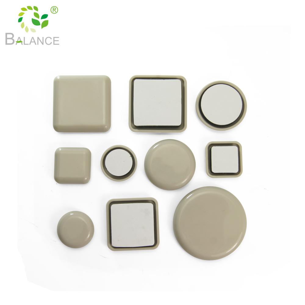 Piso resistente protección planeador con adhesivo deslizamiento de muebles pad
