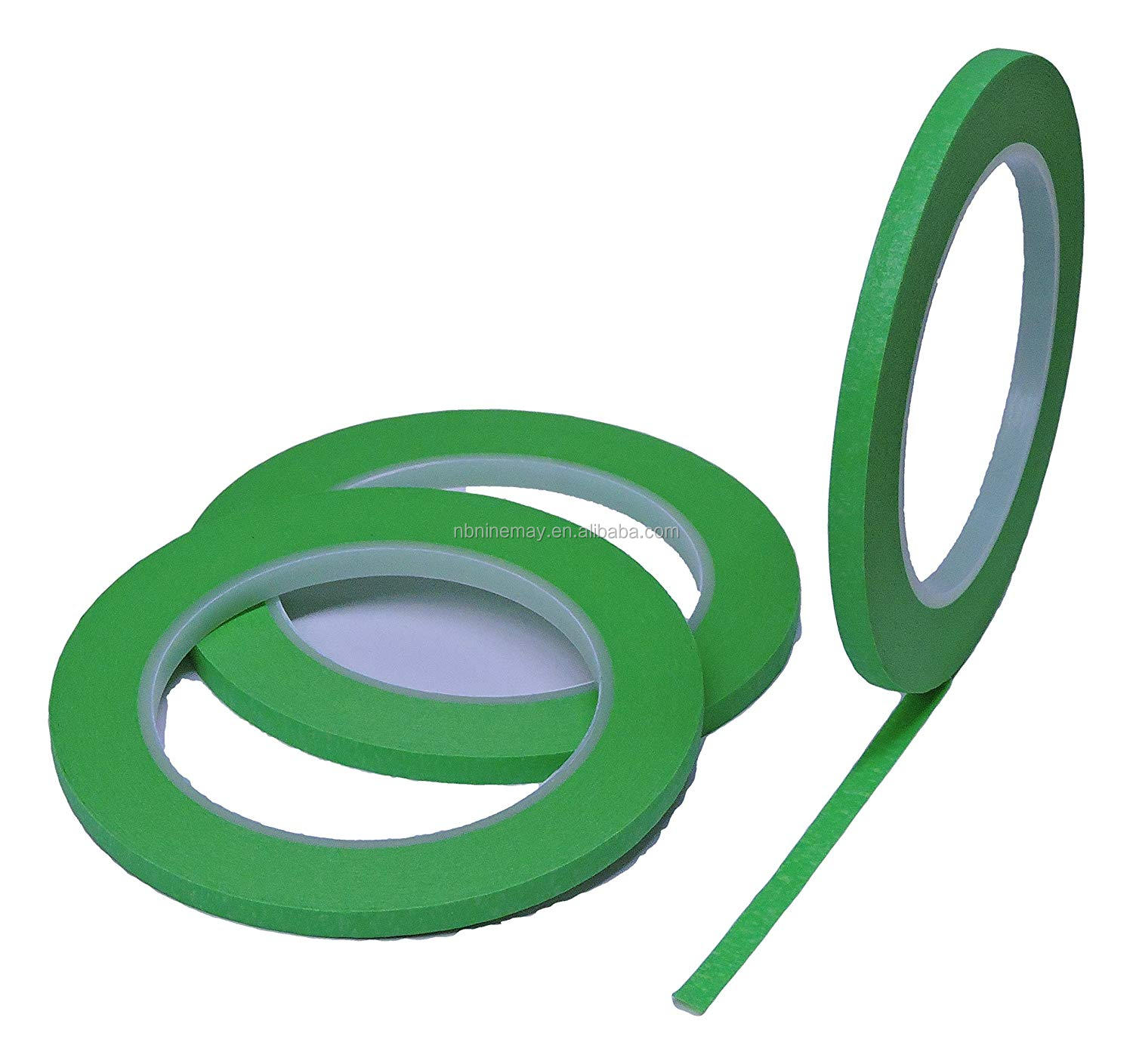 Manufacture Paint green paint tape  painters mate green masking tape crepet tape