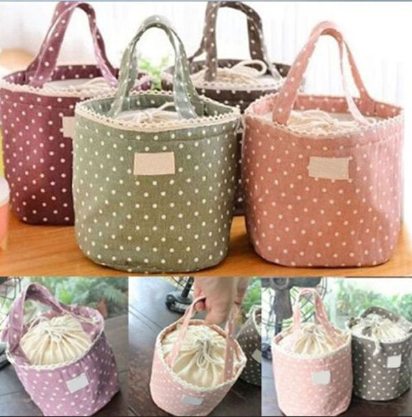 New Cute Thermal Insulated Lunch Box Tote Cooler Bag Bento Picnic ...