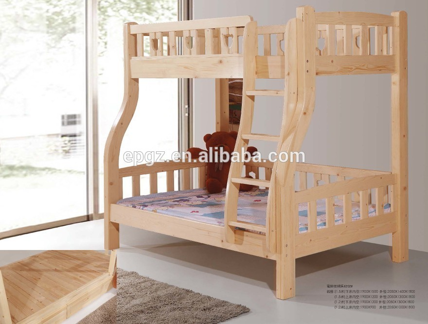 High Quality Modern Used Kids Beds For Sale Wood Double