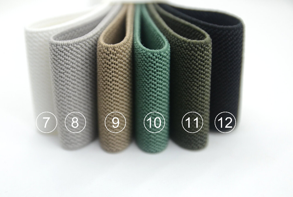 1 5 Inch 38mm Colored Wide Elastic Waistband Elastic